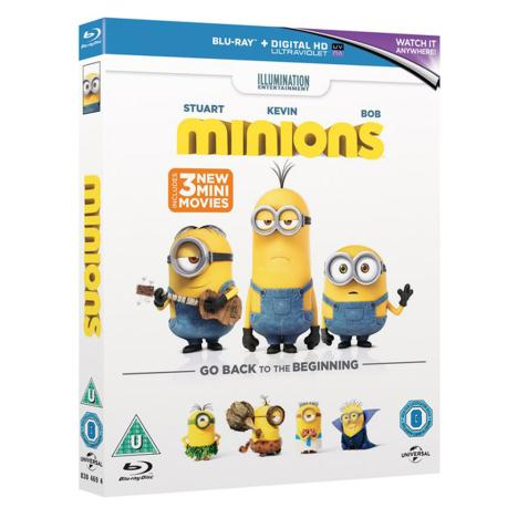 Minions Movie Blu-Ray  £19.99
