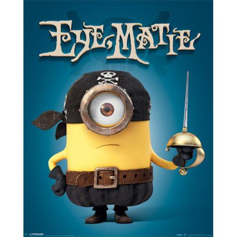Eye Matie Minions Mini Poster   £2.49