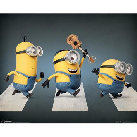 Abbey Road Minions Mini Poster   £2.49