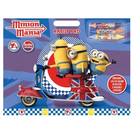 Minions Large Artist Pad with Crayons  £4.99