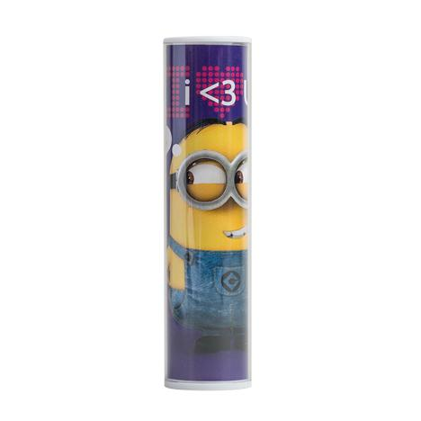 Purple Minions Portable Battery Charger Power Bank   £19.99