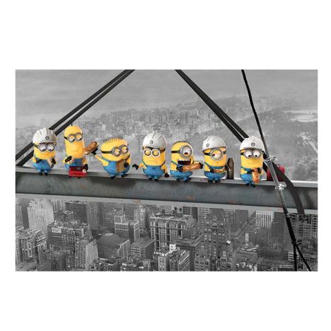 Minions Lunch On A Skyscraper Maxi Poster  £4.49