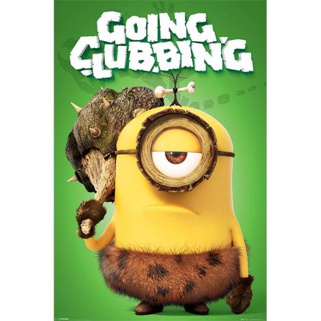 Going Clubbing Minions Maxi Poster  £3.99