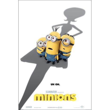 Uh-Oh Minions Maxi Poster  £3.99