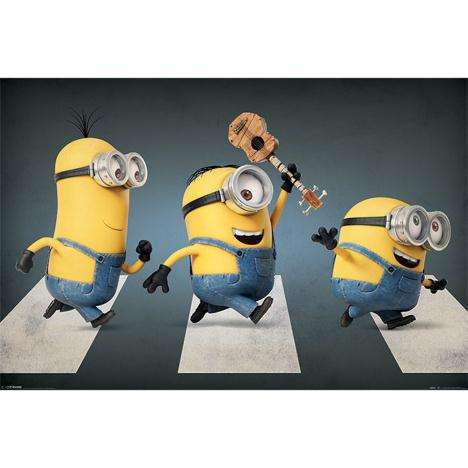 Abbey Road Minions Maxi Poster  £3.99