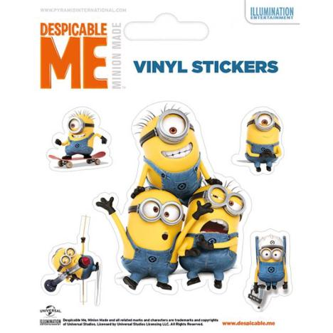 Minions Doing Vinyl Stickers  £0.99