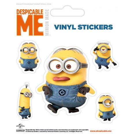 Rendered Minions Vinyl Stickers  £0.99