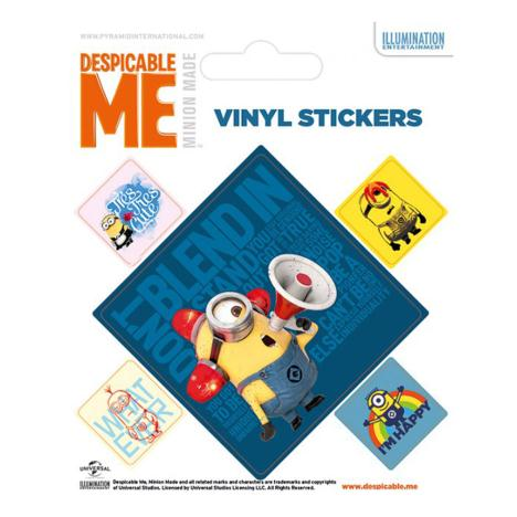 Minions Characters Vinyl Stickers  £0.99