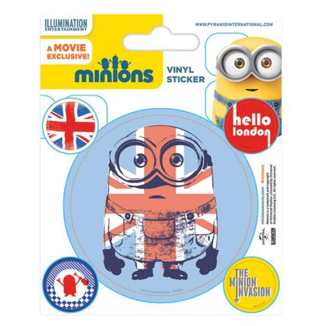 Minions Hello London Vinyl Stickers  £0.99
