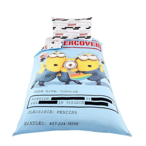 Minions Undercover Single Panel Duvet Set   £29.99