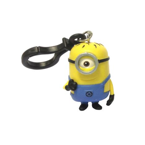 Minion Carl 3D Minions Clip On Key Ring   £3.49