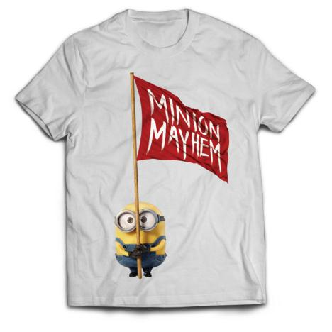 Minion Mayhem White Minions T-Shirt  £16.99