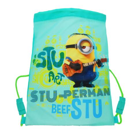 Stu-perman Minions Drawstring Bag  £6.99