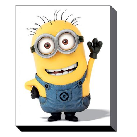 Minion Wave Canvas Print (60cm x 80cm)  £39.99