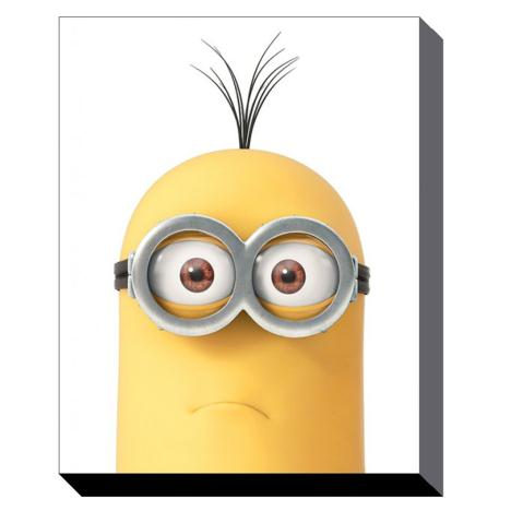 Minion Kevin Close Up Canvas Print (60cm x 80cm)  £39.99