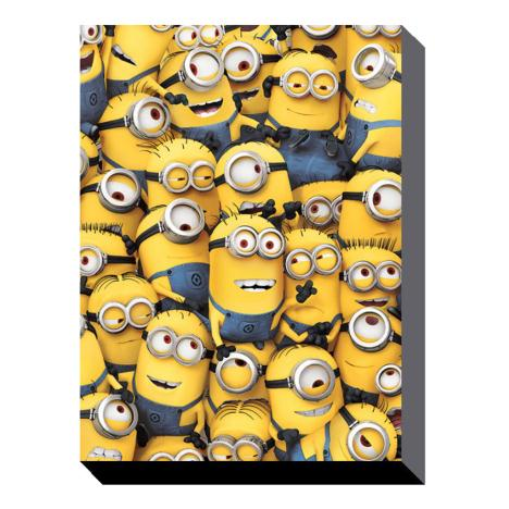 Many Minions Canvas Print (85cm x 120cm)  £59.99