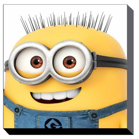 Minions Jerry Close Up Canvas Print (60cm x 60cm)  £37.99