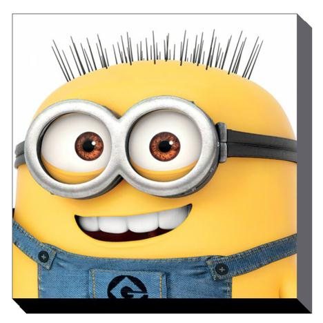 Minions Jerry Close Up Canvas Print (85cm x 85cm)  £49.99