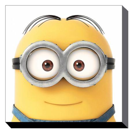 Minion Dave Close Up Canvas Print (85cm x 85cm)  £49.99