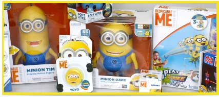 Minions Toys & Games