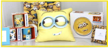 Minions Bedding & Bedroom Accessories | Minion Shop.