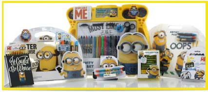 See all Minions Stationery